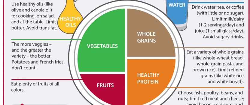 What should we eat? Introducing 'The Harvard Healthy Eating Plate'